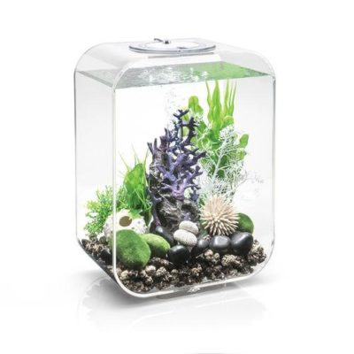 biOrb Life 15 Aquarium with Multicolor Remote Control - Transparent