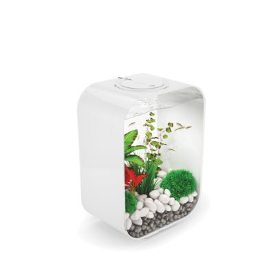 biOrb Life 15 Aquarium with Standard LED Lighting - White