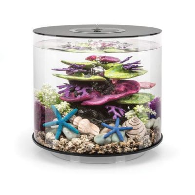 biOrb Tube 15 Aquarium with Standard LED Lighting - Black