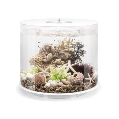 biOrb Tube 35 Aquarium with Multicolor Remote Control - White