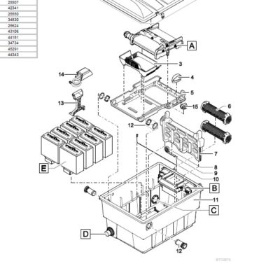 Oase BioTec Screenmatic 2 18000 Pond Filter - Parts Diagrams