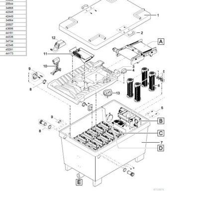 Oase BioTec Screenmatic 2 38000 Pond Filter - Parts Diagrams