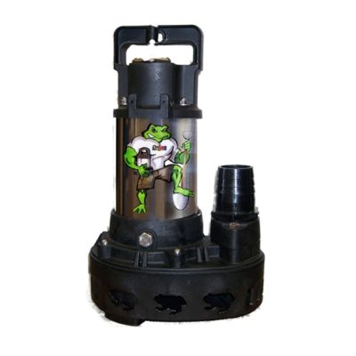 Anjon Big Frog 3000 Stainless Steel Waterfall Pump