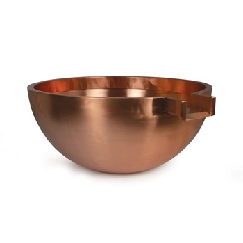 "Atlantic Water Gardens 30"" Round Copper Spillway Bowl"