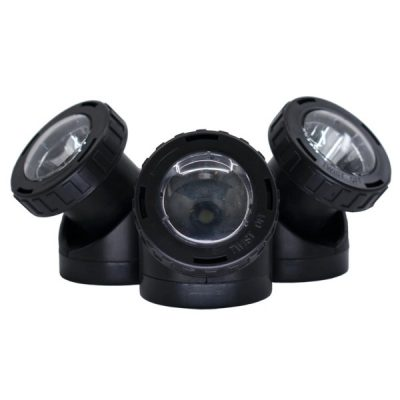 Oase 1/4 HP 1/2 HP Floating Fountain Replacement LED 3-Light Set (49510)