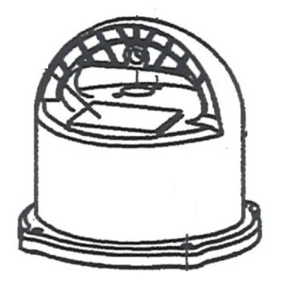 ShinMaywa Norus 50CR2.25S 50CR2.4S 50CR2.75S Replacement Motor Cover (C46897-A)