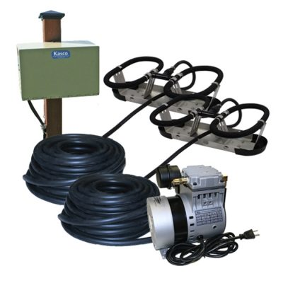 Kasco Robust-Aire 2 Diffuser Pond Aeration System - Post Mount Cabinet